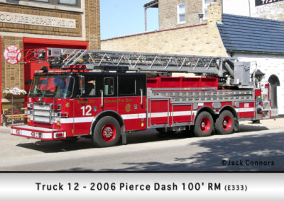 Chicago FD Truck 12