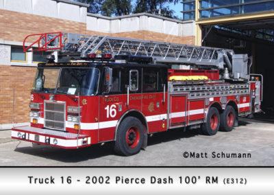Chicago FD Truck 16