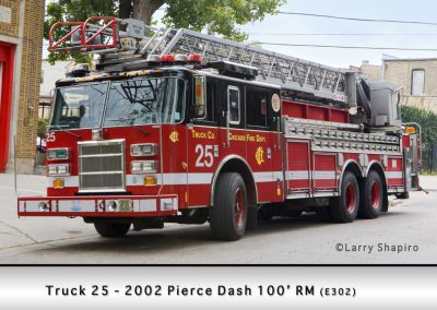 Chicago FD Truck 25