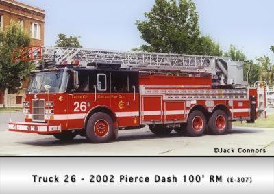Chicago FD Truck 26
