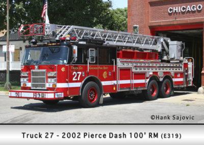 Chicago FD Truck 27