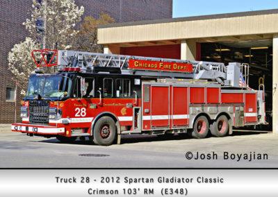 Chicago FD Truck 28