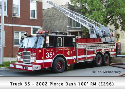 Chicago FD Truck 35