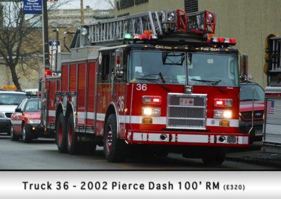 Chicago FD Truck 36