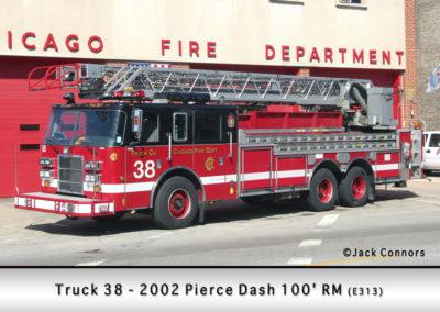 Chicago FD Truck 38
