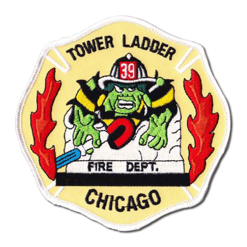 Chicago FD Tower 39 patch