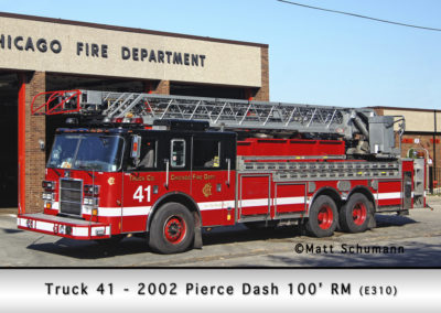 Chicago FD Truck 41