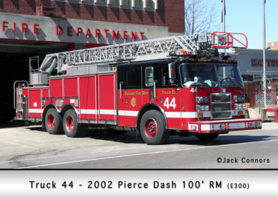Chicago FD Truck 44