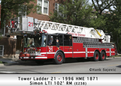Chicago FD Tower 21