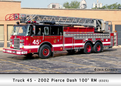 Chicago FD Truck 45