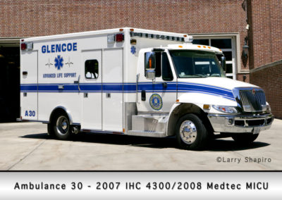 Glencoe Ambulance 30