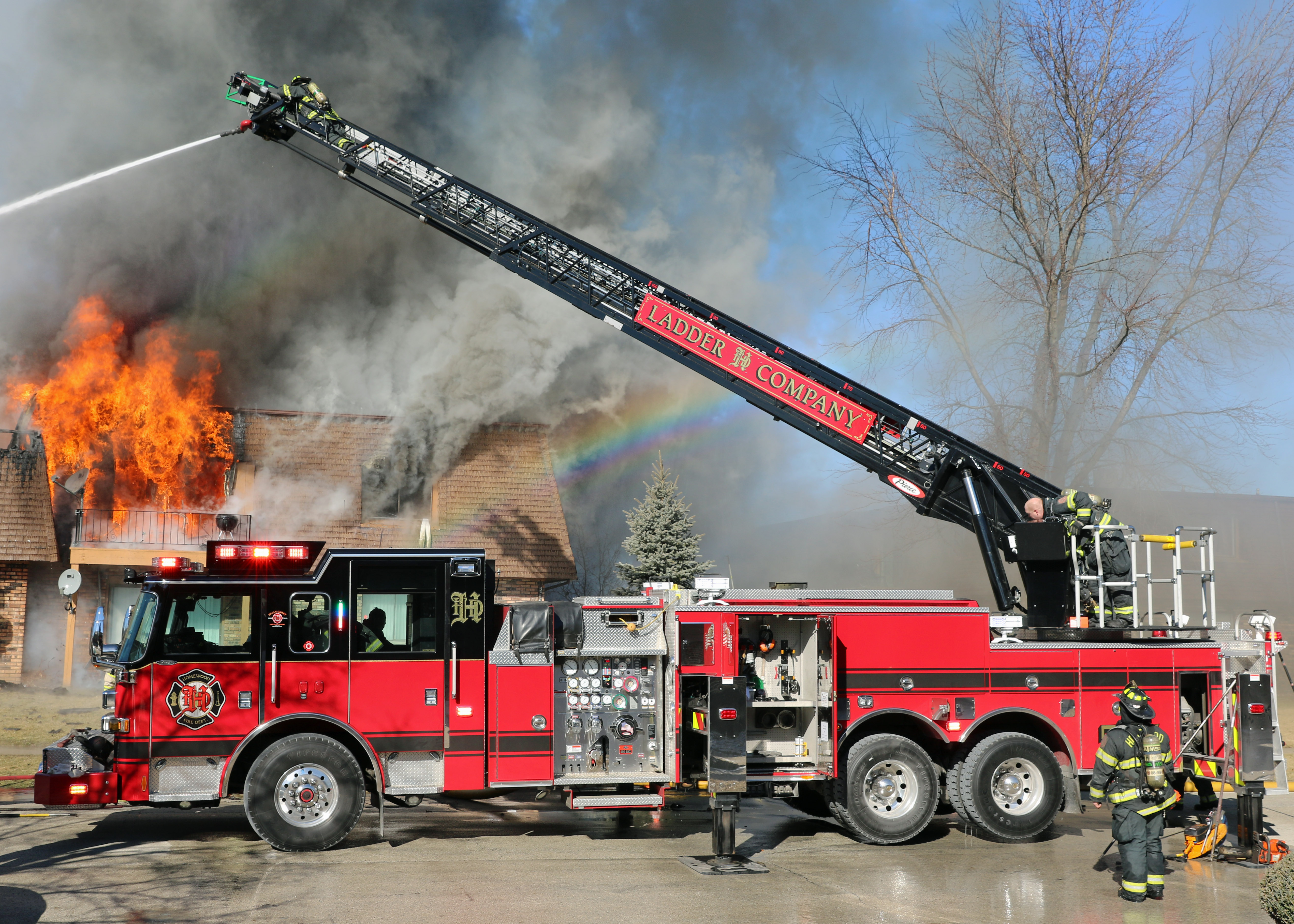 Suburban Fire Departments