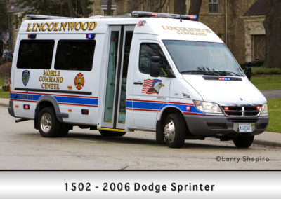 Lincolnwood FD Command 1502