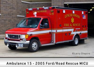 Lincolnwood FD Ambulance 15