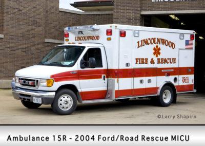 Lincolnwood FD Ambulance 15R