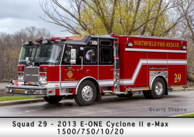 Northfield Fire Department Engine 29