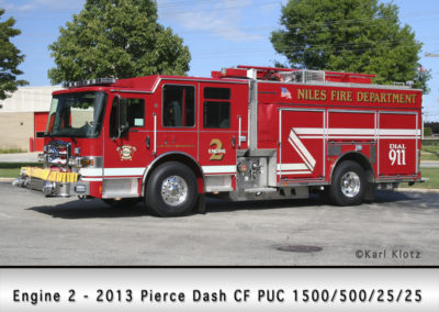 Niles Fire Department Engine 2