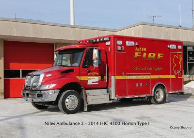 Niles Fire Department Ambulance 2