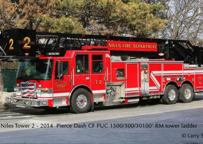 Niles Fire Department Truck 2