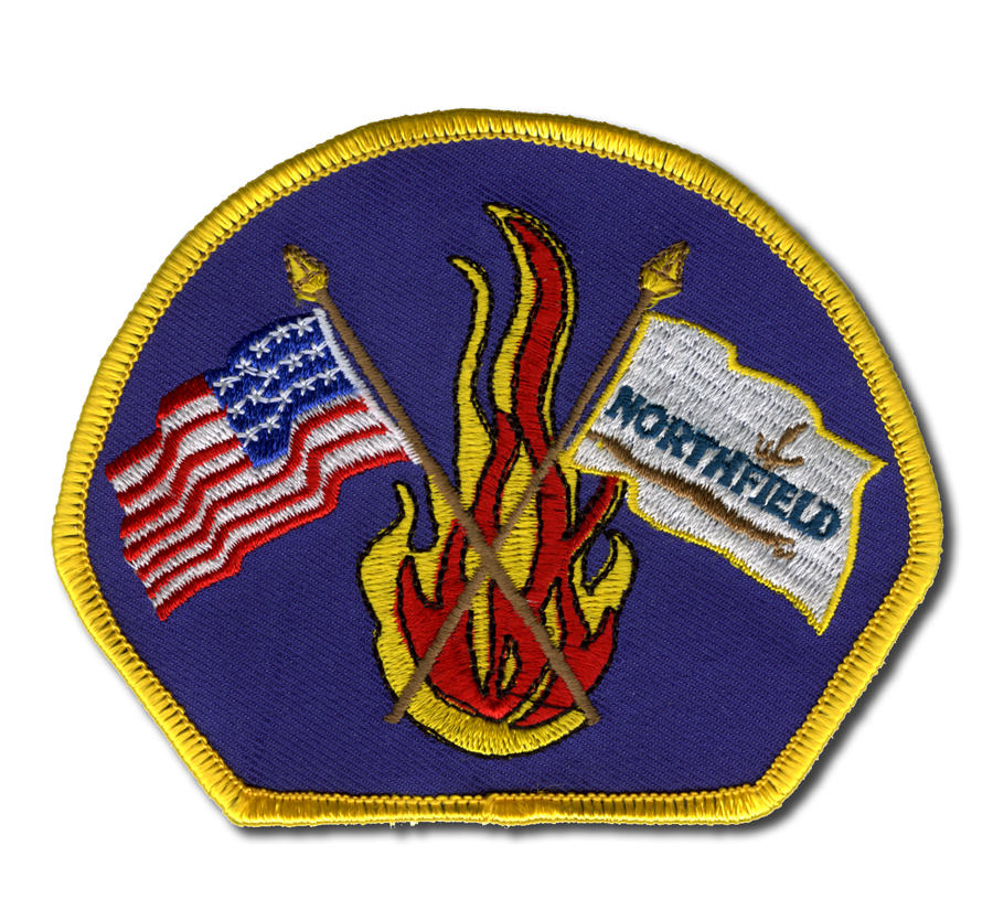 Northfield Fire Department right shoulder patch
