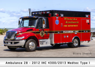 Winnetka Fire Department Ambulance 28