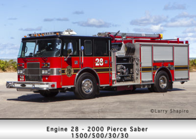 Winnetka Fire Department Engine 28R
