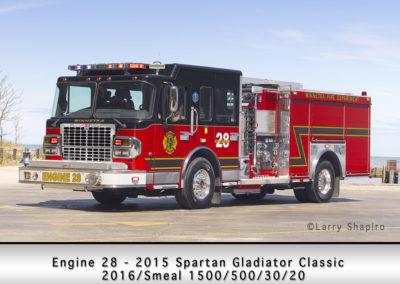 Winnetka Fire Department Engine 28