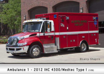 Arlington Heights FD Ambulance 1