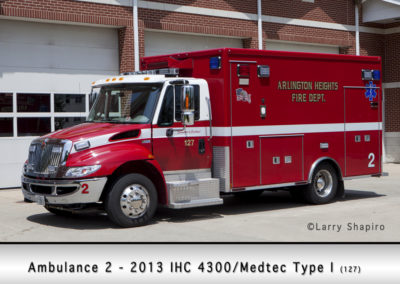 Arlington Heights FD Ambulance 2