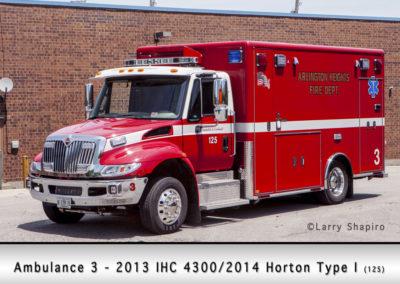 Arlington Heights FD Ambulance 3