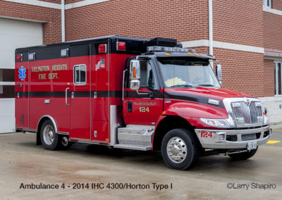 Arlington Heights Fire Department Ambulance 4Arlington Heights Fire Department Ambulance 4