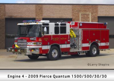 Arlington Heights FD Engine 4