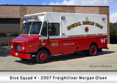 Arlington Heights FD Dive Squad 4