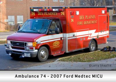 Des Plaines FD Ambulance 61R