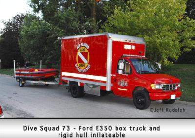Des Plaines FD Dive Squad 63