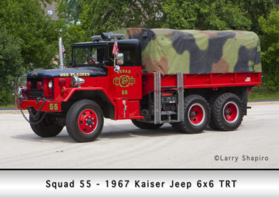 Des Plaines FD Squad 63
