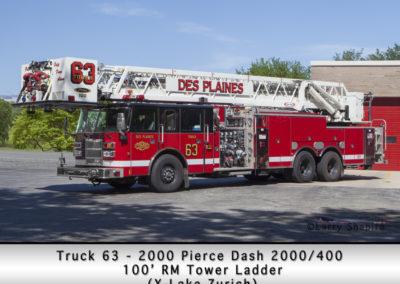 Des Plaines FD Tower 63