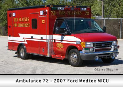 Des Plaines FD Ambulance 62
