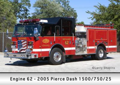 Des Plaines FD Engine 62
