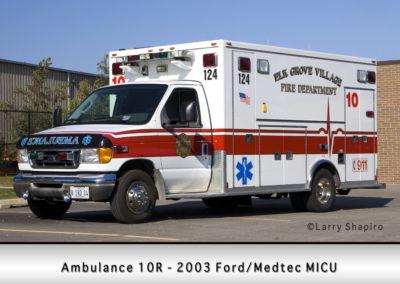 Elk Grove Village FD Ambulance 10R