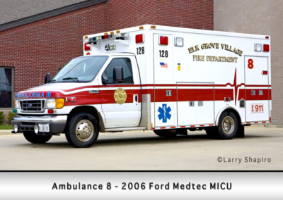 Elk Grove Village FD Ambulance 8R