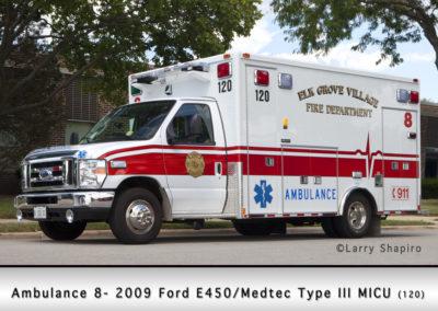 Elk Grove Village FD Ambulance 8