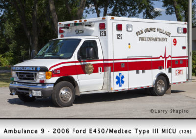 Elk Grove Village FD Ambulance 9