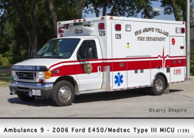 Elk Grove Village FD Ambulance 9