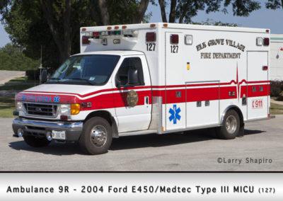 Elk Grove Village FD Ambulance 9R