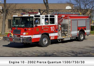 Elk Grove Village FD Engine 10
