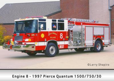 Elk Grove Village FD Engine 8
