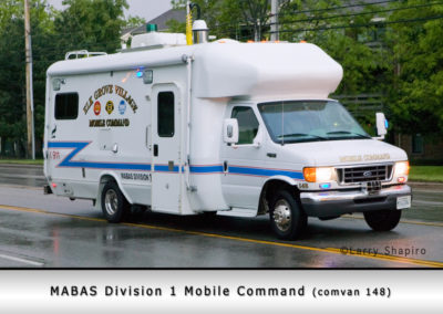 Mabas Division 1 Mobile Command Unit