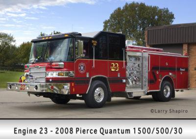 Hoffman Estates FD Engine 23