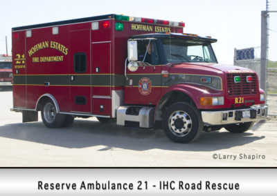 Hoffman Estates FD Ambulance 21R